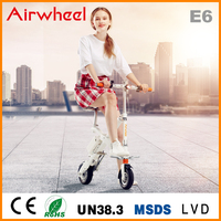 Airwheel E6 2016 new folding electric bike with lifepo4 panasonic operated battery CE ROHS approval