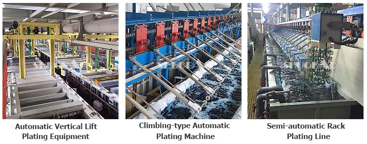 ShuoBao chrome tools plating machine for metal finishing
