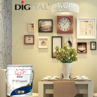 Interior walls strong cover power emulsion paint coating