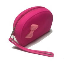 Cute butterfly design Cosmetic coin purse wholesale wrist wallets women