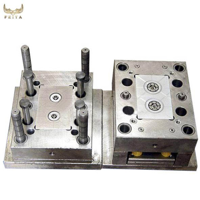 High precision mold manufacturing process,camera gear mould,plastic injection molding cost