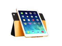 For ipad case 360 degree rotating leather cover for ipad234 mini air