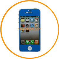 Full Body Clear Sticker Screen Protector Film Skin Guard For iphone 5 5G Blue from Dailyetech