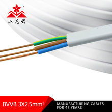0/1 awg ofc power 2.5mm TPS Electrical Cable By the Metre 50 Millimeter Square Copper Earthing 2.5 Cable Twin and Earth