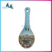 The newest product ceramic gift spoon in different shapes