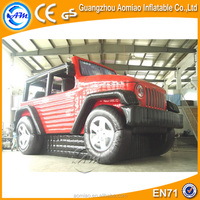 Customized inflatable vehicle, inflatable police car, inflatable truck replica