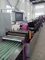 Self-sealed courier bag making machine