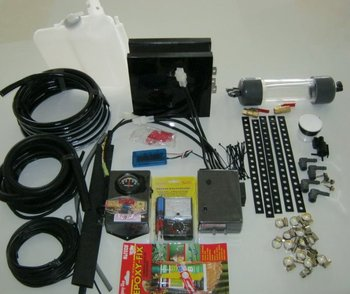 Easy Fit HHO Kit for cars and light trucks up to 4000cc with ECU ( Manufactured after 1996).