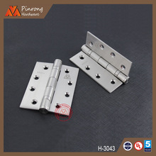 China manufacturer 2 ball bearing stainless steel butt hinge oem factory
