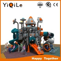 Space theme playground equipments luxurious, funny,exciting,