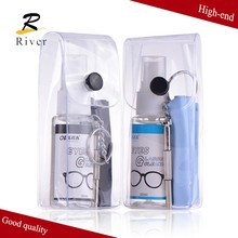 China optical wholesale lens spray / lens cleaning kit/ natural eyes eyeglass cleaner