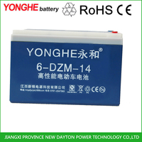 Deep cycle 12v 48v 60v rechargeable vrla battery for electric tricycle three wheel vehicle