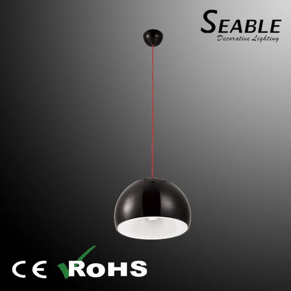Modern Black Chanderlier, Contemporary Simple Pendant Hanging Lights