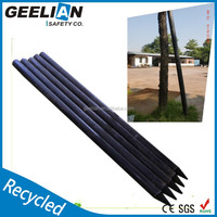 china factory support concrete fence Solid recycled plastic craft post