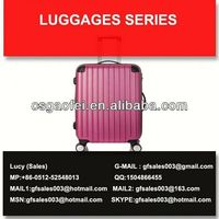 best and hot sell luggage elegant travel luggage sets for luggage using