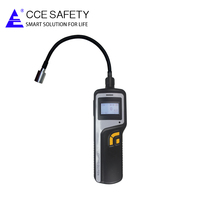 0-10ppm personal safety handheld c2h4 gas alarm leak monitor with high precision aspirator pump