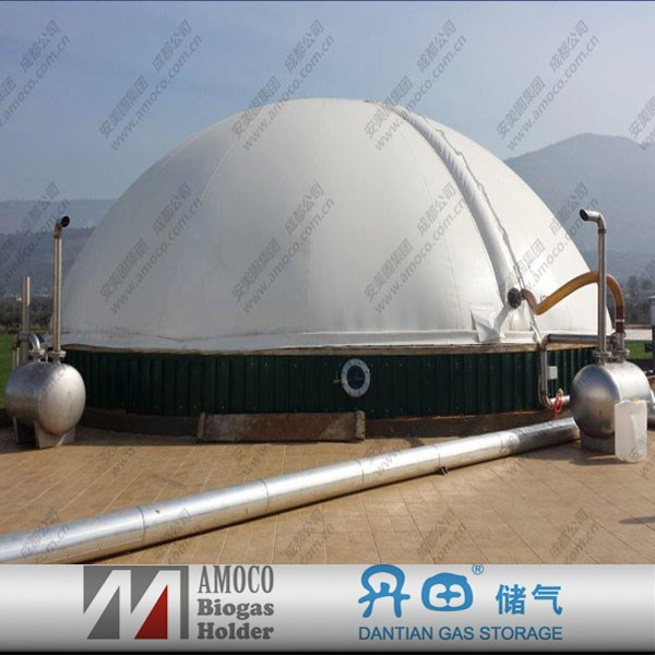 2015 China biogas anaerobic digestion enamel/septic tank/reservoir/reactor
