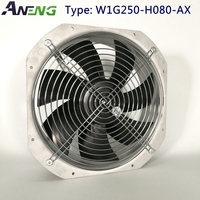 0-10V/PWM Control low noise high flow smoke exhaust fan for air ventilation