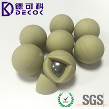 Custom size 25mm 38mm factory price steel core silicon ball steel core rubber ball