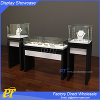 High quality display showcase and cabinet jewelry store furniture