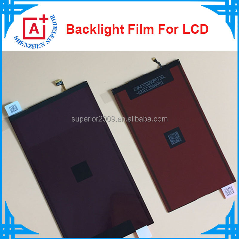 Factory price repair parts for apple iphone 4 4s 5 5s 5c lcd backlight film, wholesale backlight for iphone 6 6plus