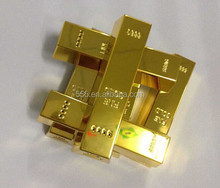 Hot sales cheap mini new gold bar mobile power bank