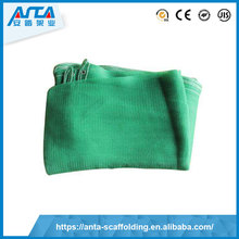 Good price lowest dark green and blue wind break anti dust safety net with great