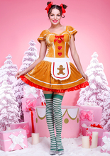 Wholesale D093 velvet material christmas costume fat women sexy christmas costume for party