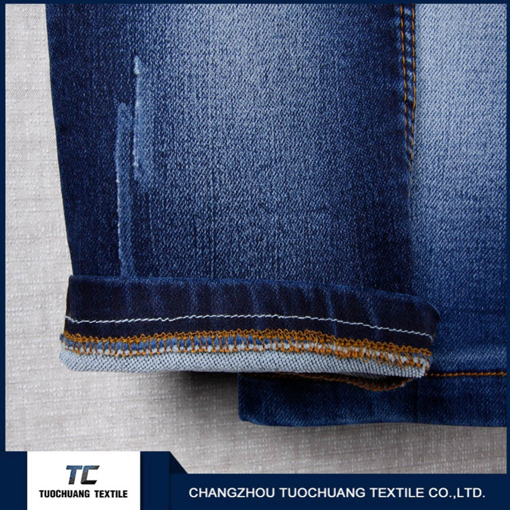 stretch Original polyester yarn-dyed denim for garments