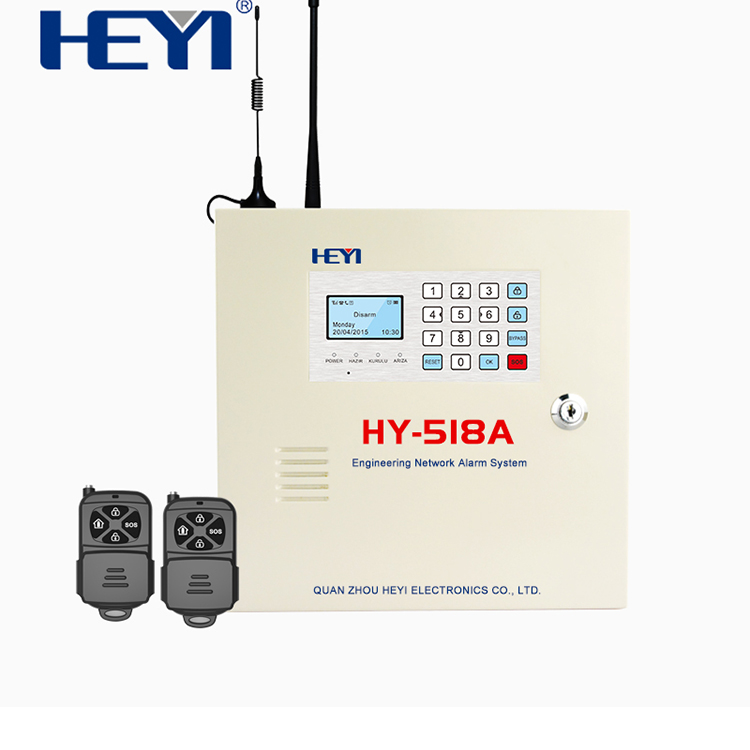 China Supplier Wireless Dual network Gsm+ PSTN paradox alarm wireless system