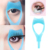 Factory price direct selling Solid crystal three in one eyelash curler