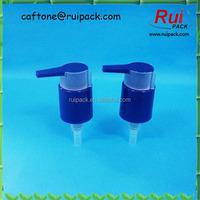 24/410 PP dispenser pump, colorful water dispenser pump with clip, water bottle dispenser pump