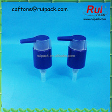 24/410 PP dispenser pump, colorful water dispenser pump with clip, water bottle dispenser pump