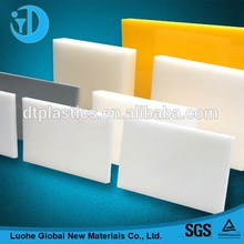 The high technology content of high density polyethylene that has grade HDPE sheets