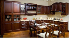 Factory North America Villa Project Solid Wood Kitchen Cabinet