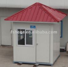 Portable prefabricated security guard house