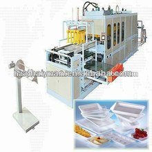 latest plastic tray/box vacuum forming machine