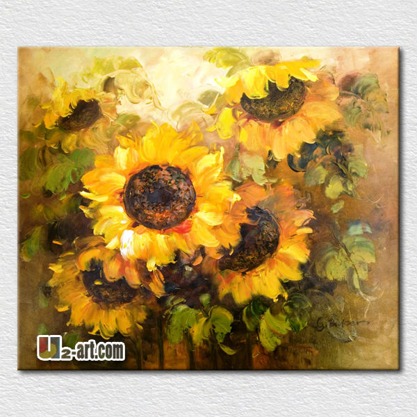 Wall pictures <strong>art</strong> canvas painting sunflower oil painting