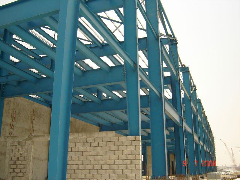 Pre ingenier a de estructuras de acero acero almacenes - Estructuras de metal ...