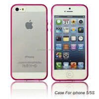 Hot pink Protective Snap-on Hard Case Slim Rugged Cover for IPhone4/5