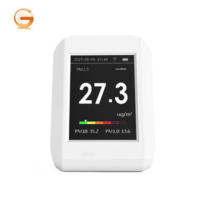 New Product LCD Screen Handheld Portable Air Quality Monitor WIFI PM 2.5 PM 1.0 PM 10
