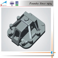OEM bestsaller China foundry shell process cast iron support base casting