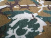 2013 new design desert military print anti-pilling polar fleece fabric