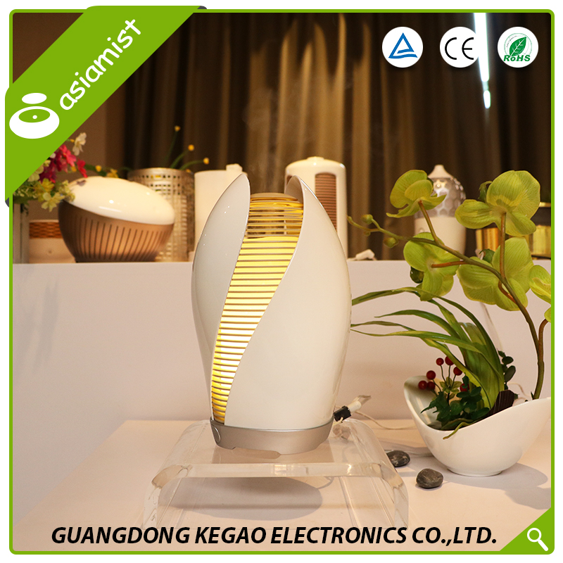 Asiamist singapore home or room toilet metal electric aromatherapy fragrance bloom aroma scent essential oil diffuser