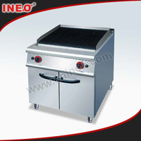 Commercial Restaurant Kitchen Electric Lava Rock Grill/Hot Stone Grill Sale/Red Stone Grill