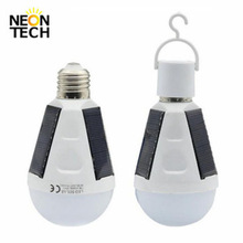 Rechargeable Outdoor Lamp Portable Light Emergency Solar Bulb 12W 7W
