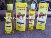 Hazelnut Massage Oil for woman