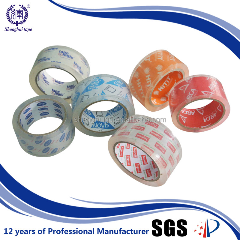 Self Adhesives Trapping Strong Adhesion Super Clear Bopp Tape