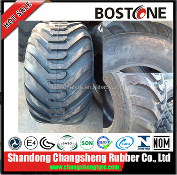 High Performance floatation tyres and rims 550/45-22.5 Factory