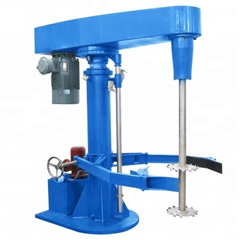 Industrial High speed hydraulic lifting dispersing machine /dissolver